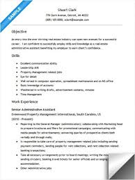 Career Objective For Real Estate Resume Real Estate Administrative Assistant Resume Administrative