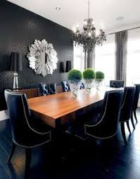 i like the look of brown table with the black chairs willowgrove dining room contemporary dining room other metro atmosphere interior design inc