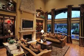 Tuscan Inspired Living Room Best Design