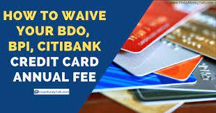 citibank credit card annual fee