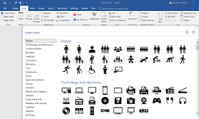 microsoft word icon how to convert svg icons to shapes using microsoft word