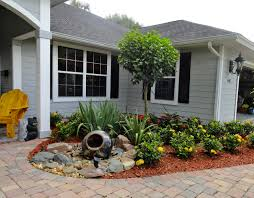 Small Picture Front Yard Garden Bed Design Exterior Landscaping Ideas For Small