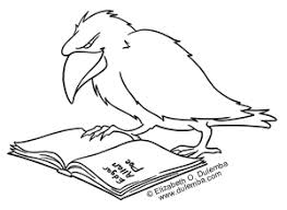 Small Picture dulemba Coloring Page Tuesday Poes Raven
