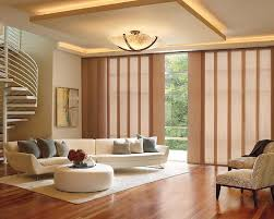 window treatments for sliding glass patio doors incredible feng shui styling featuring hunter douglas skyline gliding