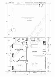 barndominium floor plans pole barn