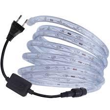 AC220V RGB Đèn Neon Tròn Dây Đèn LED Dẻo Đèn LED Chống Nước Ruy Băng 36 Đèn  LED/M EU Cắm Đèn LED băng Keo Trong Nhà Ngoài Trời Trang Trí|Dải Đèn LED