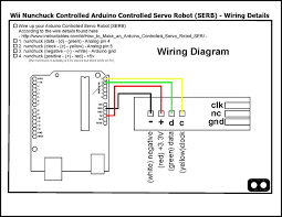 similiar nintendo wire diagram keywords control your robot using a wii nunchuck and an arduino 2 · wiring diagram
