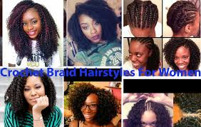 Crowshade Hair Style crochet braid hairstyles for women hairstyle for women 8896 by wearticles.com