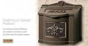 residential mailboxes wall mount. Delighful Residential Wall Mount Residential Mailboxes Manufacturing Series  Canada  On Residential Mailboxes Wall Mount M