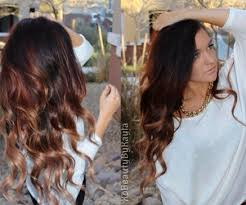hair color trends spring 2015. 2014 spring celebrity sombre hair colors: black on top - color trends 2015