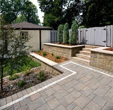 retaining walls terraces planters