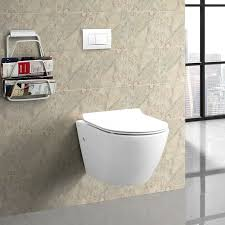 the sublime dual flush wall hung toilet