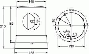 hella kl600 kl700 and kl710 rotary amber beacon rally lights hella kl700 rotary amber beacon