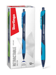 "<b>Ручка шариковая</b> автоматическая <b>Berlingo</b> ""Riteline"", синяя, 0,7 ..."