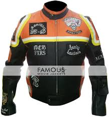 home leather jacketsmen jacketsharley davidson and marlboro man micky rourke jacket previous