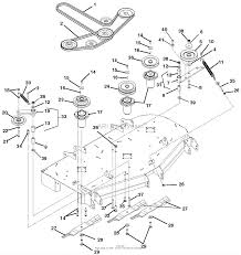 gravely 991066 000101 zt hd 52 parts diagram for belts 991066 000101 zt hd 52 belts spindles idlers and mower blades ⎙ print diagram