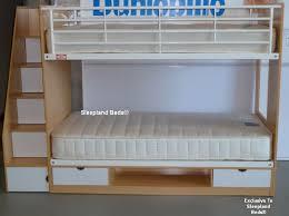 cameo deluxe storage bunk bed