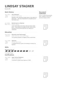 resume for housekeeping job   sample resume  seangarrette cohousekeeperresume example housekeeper resume samples visualcv resume samples database   resume for housekeeping job   sample