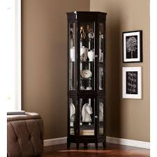 Southern Enterprises Carlotta Black China Cabinet-HD888415 - The ...
