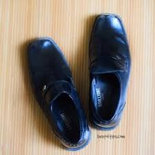 how to clean shine leather shoes