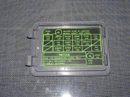 86 87 88 toyota supra oem fuse box cover autopartone com 1995 toyota supra fuse box 86 87 88 toyota supra oem fuse box cover