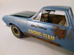 1965 Chevrolet El Camino 1/24 scale model car in blue | Models ...