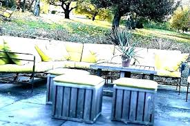 gray outdoor furniture oahu garden cushions patio the home depot high back rocking chair