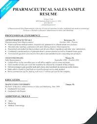 Medical Sales Representative Resume Beauteous Sales Representative Resume Sample Format Rep Examples