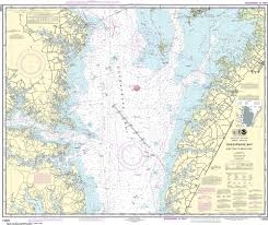 Noaa Nautical Chart 12225 Chesapeake Bay Wolf Trap To Smith Point
