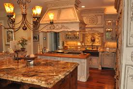 French Country Inspired Rococo Kitchen