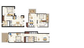 One Bedroom Apartment Floorplan