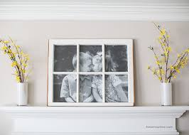 diy antique window picture frame great use for old windows cost less