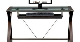 full size of desk keyboard tray for glass desk ideal computer desk with keyboard tray