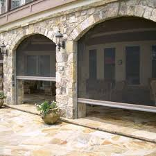 retractable screen patio. Retractable Screen Stone Patio - Could Be Used On NE Side For Wind Protection And Maybe T