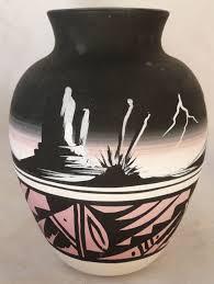 Navajo pottery designs Southwestern Navajo Native American Pottery Vase Pinterest Navajo Native American Pottery Vase Art Like In 2019 Pinterest