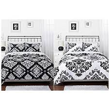 Lovely Black And White Damask Queen Bedding 78 For Your Cotton ... & New Black And White Damask Queen Bedding 29 On Bohemian Duvet Covers With  Black And White Adamdwight.com