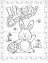 Printable Coloring Pages Bunny Download Them Or Print Free Easter