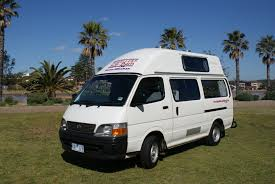 Camper Cars Toyota Hiace Hi Top Campervans For Sale At Travellers Autobarn