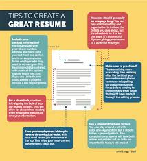 How To Create A Great Resume Tips To Create A Great Resume The Daily Californian