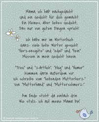 Gedicht Geburtstag Mama 50