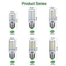 Online Shop <b>E27 LED Lamp</b> E14 <b>LED Bulb</b> SMD5730 220V <b>Corn</b> ...