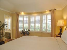 Round Bedroom Chair Modern American Style Bedroom Bay Window With Curtain Design And