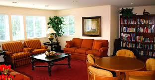 Living Room Furniture St Louis Senior Living Retirement Community In St Louis Mo Orchid Terrace