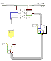 electrics two way lighting Two Lights Two Switches Diagram chockblockhar2w gif two switches two lights wiring diagram
