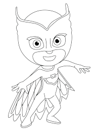 Coloring Pages Pj Mask Coloring Pages To Masks Connect The Dots