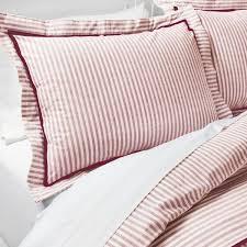 yarn dye stripe duvet cover set threshold target 35 liked