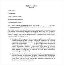 letter of intent job sample 10 letter of intent for employment samples pdf doc