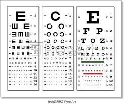Rms Eye Chart Free Art Print Of Eye Chart