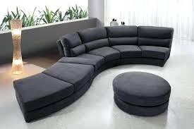 rounded sectional sofa furniture approved round sectional sofas circular sofa new gray silver i loved from