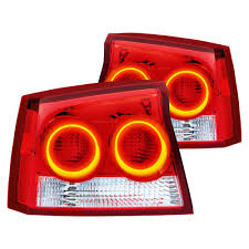 Red Oracle Lights Oracle Lighting 7025 001 Chrome Red Factory Style Tail Lights